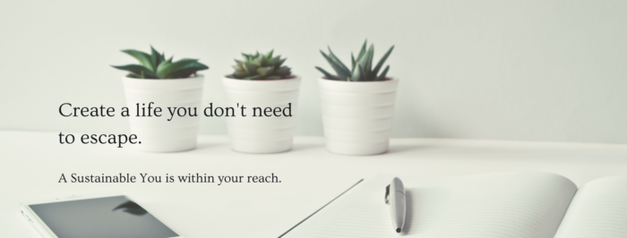 Sustainable You Landing Page