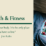 Health and Fitness Lesson Course Gift Certificate